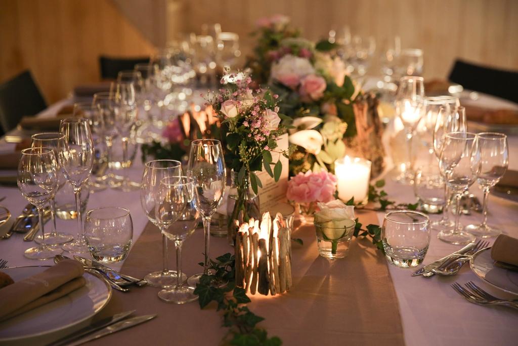 mariage thème naturel et élégante - wedding designer Tours - L'atelier d'un souhait