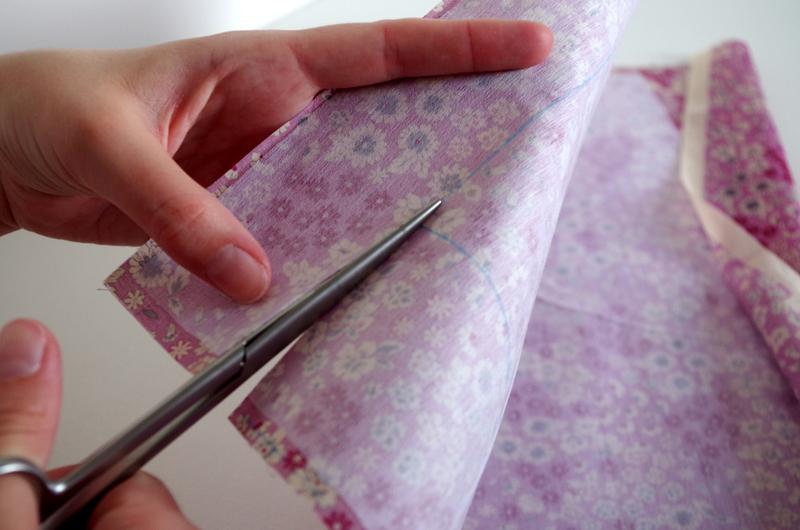 Tutoriel Noeud papillon : découper ses coupons de tissus