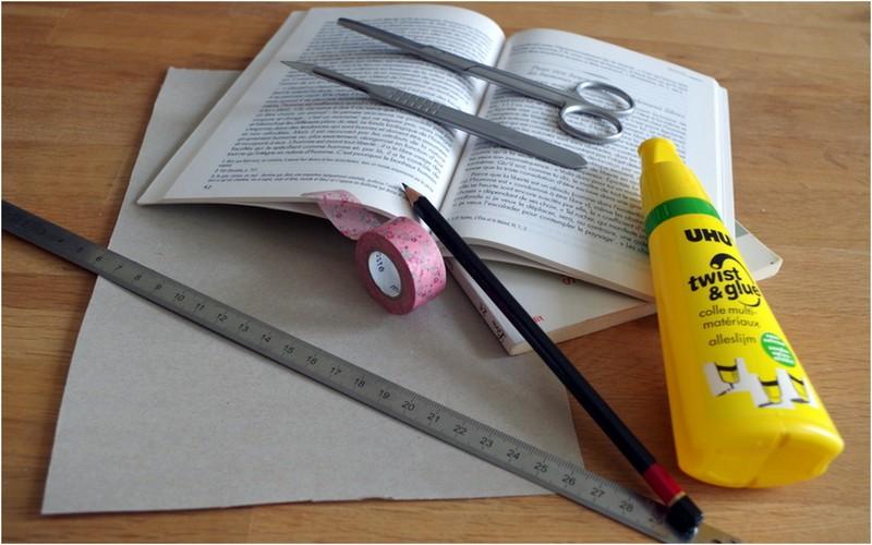 Matériel pour un DIY : comment fabriquer des cornets en papiers pour une sortie de cérémonie ?