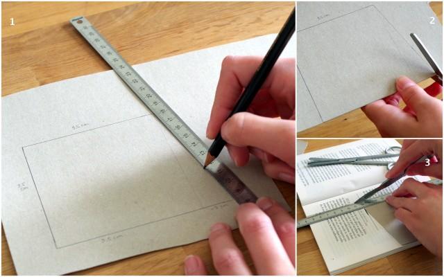 Fabrication des cornets en papiers pour une sortie de cérémonie