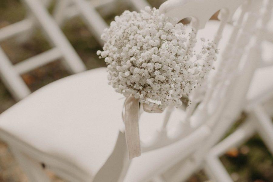Bouquet de mariage pour une cérémonie laïque à Tours