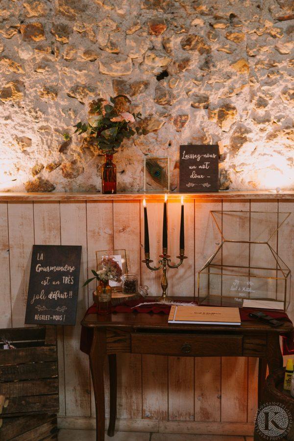 urne mariage-décor mariage