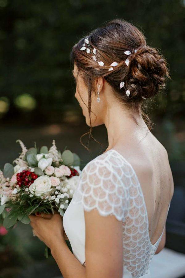 Organiser un mariage à Tours - robe de mariée