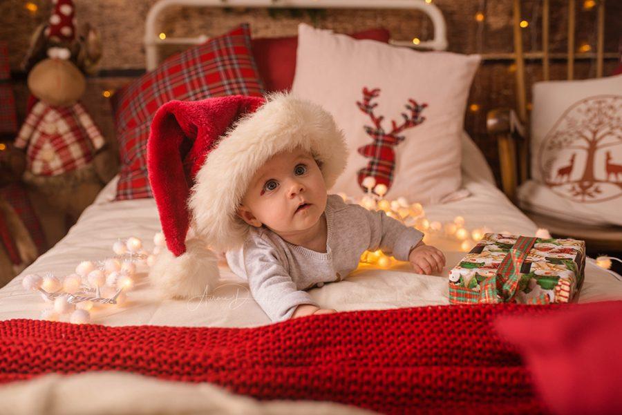 séance photo Noël pour enfants et lutins du père noël