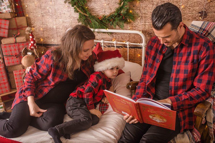 lecture de contes de Noël à Tours