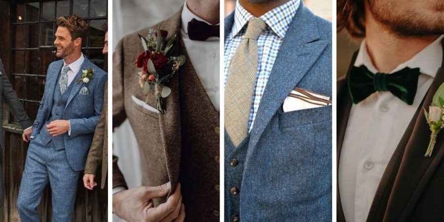 Mariage hivernal : La tenue du marié