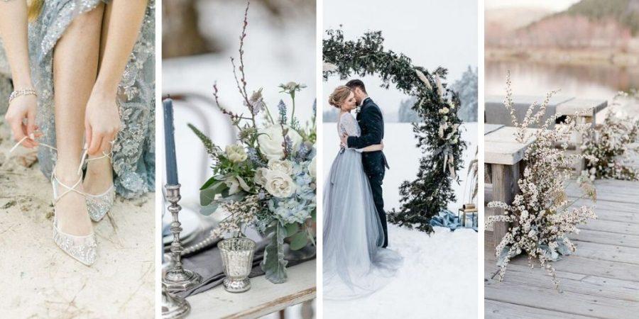 Mariage de princesse en hiver