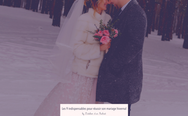 Comment réussir son mariage en hiver