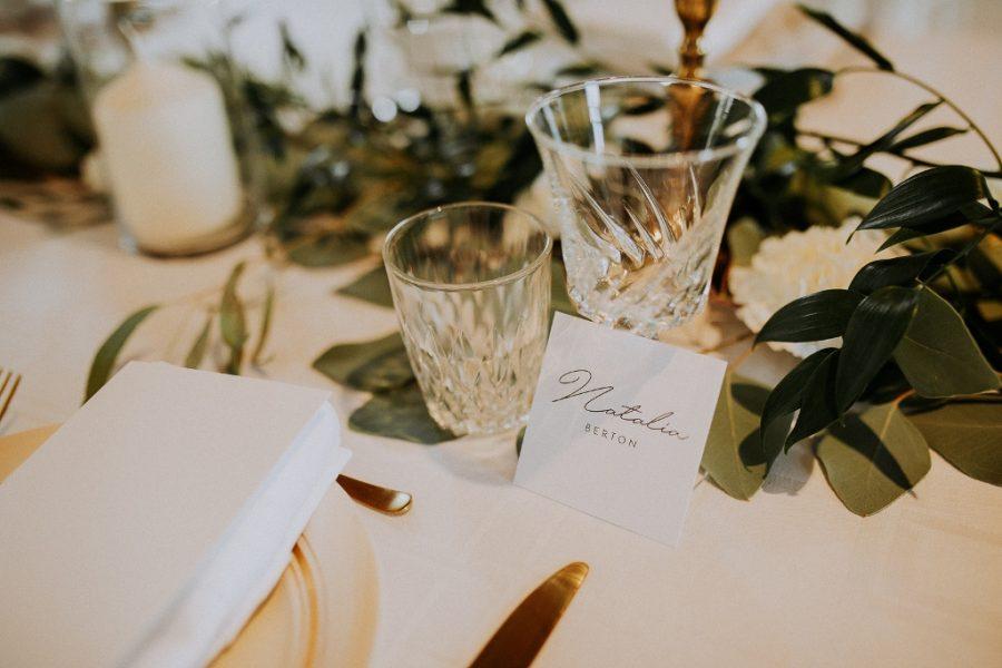 Elegance à la française et art de la table pour un mariage à Tours