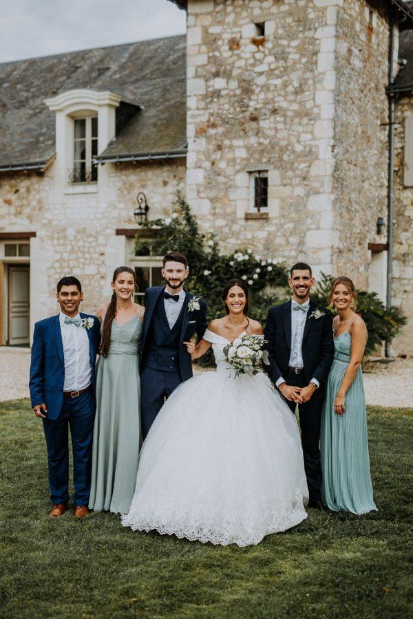 Photo de mariage thème nature