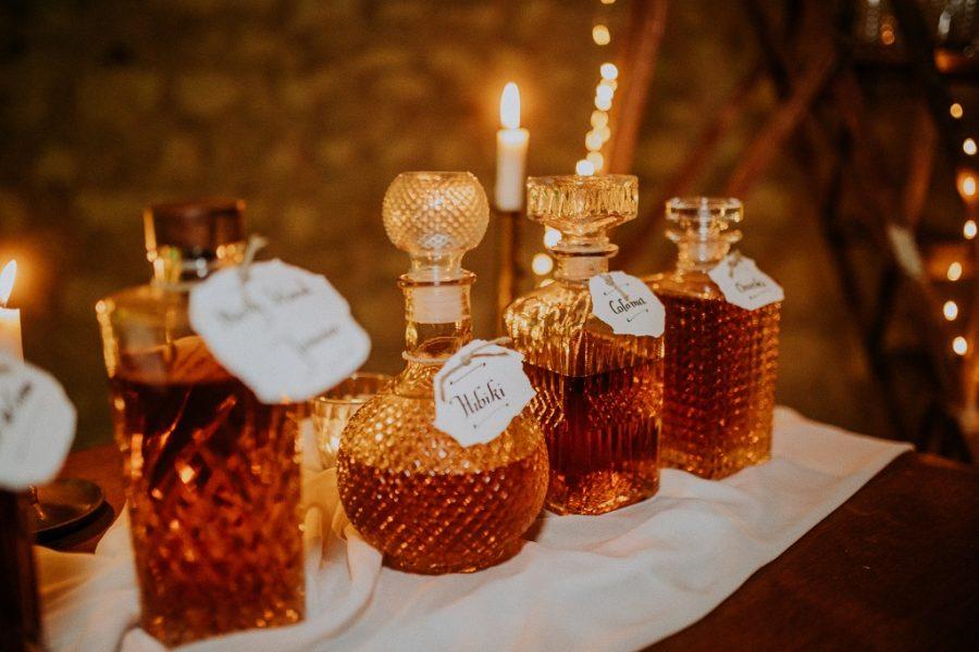 Bar à whisky pour son mariage