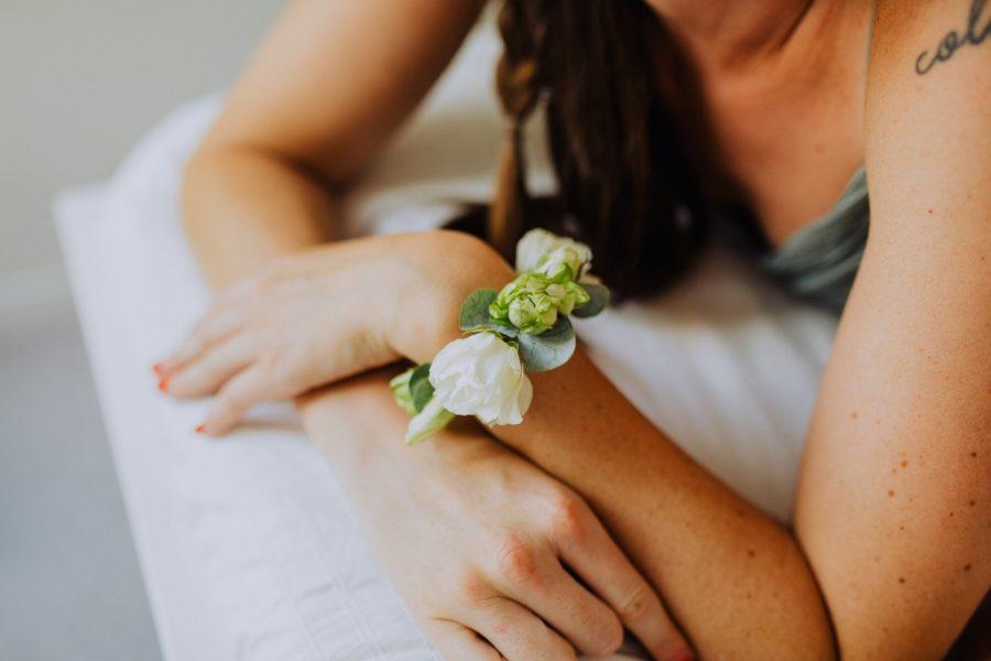 Bracelet fleurie pour un mariage à Tours